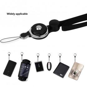 Lanyard Gantungan Smartphone Multifungsi 2 in 1 - GS-101 - Black - 3