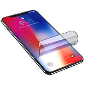 Screen Protector / Tempered Glass - ANWAKER Hydrogel TPU Screen Protector Pelindung Layar Smartphone for iPhone 11 Pro Max - HD10