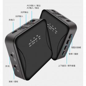 Kebidu Audio Bluetooth 5.0 Transmitter Receiver aptX Fiber Optical Plug - 30445 - Black - 5
