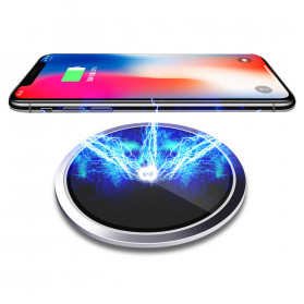 JAVY Ultra Thin Qi Wireless Charger - W3 - Black