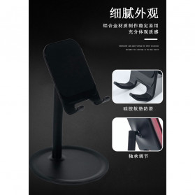 KKMOON Dudukan Smartphone Stand Holder Multi Angle - K1 - Black - 3