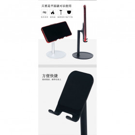 KKMOON Dudukan Smartphone Stand Holder Multi Angle - K1 - Black - 6