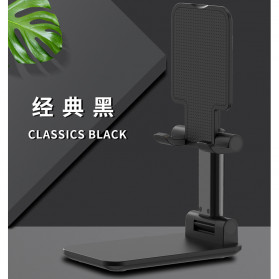 KKMOON Dudukan Smartphone Tablet Stand Holder Multi Angle - LP109 - Black - 5