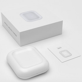 JAVY Qi Wireless Charging Dock for Apple Airpods Wireless Case - W4 - White - 6