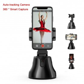 APAI GENIE Dudukan Smartphone Smart Object Tracking Stand Holder 360 Degree Rotate - AG276 - Black