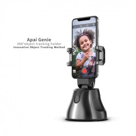 APAI GENIE Dudukan Smartphone Smart Object Tracking Stand Holder 360 Degree Rotate - AG276 - Black - 9