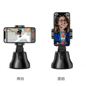 APAI GENIE Dudukan Smartphone Smart Object Tracking Stand Holder 360 Degree Rotate - AG276 - Black - 10