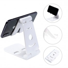 Tospra Lazy Smartphone Holder Table Foldable Mobile Phone Stand - JW7 - Black - 2