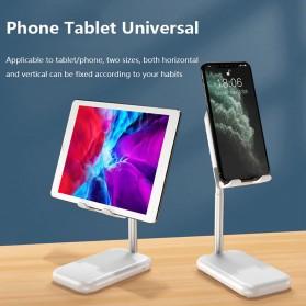 ANENG Smartphone Stand Holder Desk Adjustable Bracket with Mini Fan- ZG30 - Black - 3