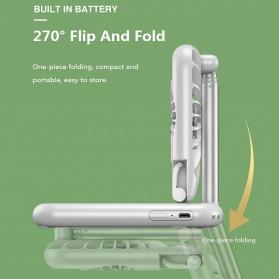 ANENG Smartphone Stand Holder Desk Adjustable Bracket with Mini Fan- ZG30 - Black - 4