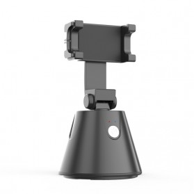 SOUING GENIE Dudukan Smartphone Smart Object Tracking Stand Holder 360 Degree Rotate - AG277 - Black - 5