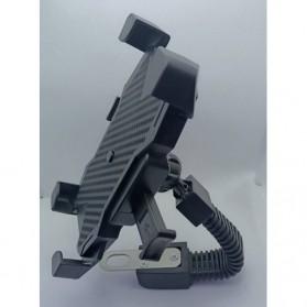 INIU Smartphone Holder Sepeda Motor Rearview Mirror Version - C-4 - Black - 4