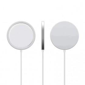 JKING MagSafe Wireless Charging Dock Magnetic USB Type C 15W - J15WN - White - 2