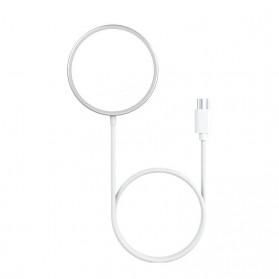 JKING MagSafe Wireless Charging Dock Magnetic USB Type C 15W - J15WN - White - 5