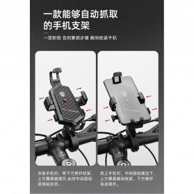 ZY Smartphone Holder Sepeda Motor Handlebar Version - Y-17 - Black - 10