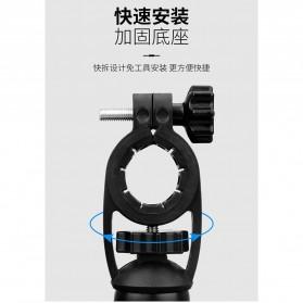 Pop Fruit Smartphone Holder Sepeda Motor Handlebar Version - PLA-02 - Black - 5