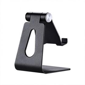 VEEAII Universal Smartphone Holder Stand Aluminium - Z4 - Black - 2