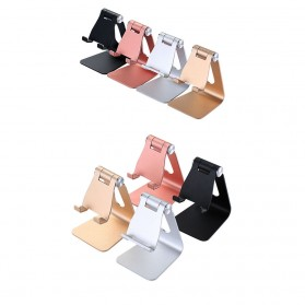 VEEAII Universal Smartphone Holder Stand Aluminium - Z4 - Black - 3