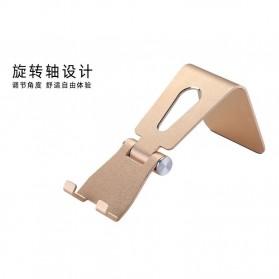 VEEAII Universal Smartphone Holder Stand Aluminium - Z4 - Black - 4