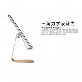 VEEAII Universal Smartphone Holder Stand Aluminium - Z4 - Black - 5