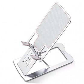 VEEAII Smartphone Tablet Stand Holder Foldable Aluminium 6 Adjustment - Z5 - Silver - 2