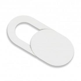 Zifon Penutup Kamera Camera Shield Stickers Smartphone Notebook PC Anti Hacker Peeping - ES01 - White