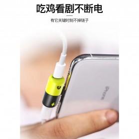 Fexcel Audio Converter Lightning to Lightning Audio - 1000 - Black/Yellow - 2