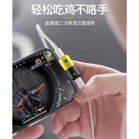 Fexcel Audio Converter Lightning to Lightning Audio - 1000 - Black/Yellow - 3