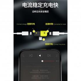 Fexcel Audio Converter Lightning to Lightning Audio - 1000 - Black/Yellow - 5
