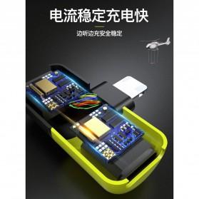 Fexcel Audio Converter Lightning to Lightning Audio - 1000 - Black/Yellow - 6