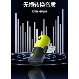 Fexcel Audio Converter Lightning to Lightning Audio - 1000 - Black/Yellow - 8