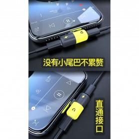 Fexcel Audio Converter Lightning to Lightning Audio - 1000 - Black/Yellow - 10
