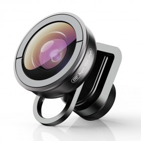 APEXEL Lensa Kamera Smartphone Universal Clip 170 Super Wide Angle Lens - APL-HD5SW - Black
