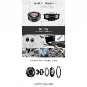APEXEL Lensa Kamera Smartphone Universal Clip 170 Super Wide Angle Lens - APL-HD5SW - Black - 6