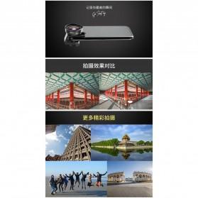 APEXEL Lensa Kamera Smartphone Universal Clip 110 Wide Angle Lens - APL-HD5W - Black - 7