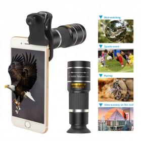 APEXEL Lensa Telephoto Lens Kit 20x + SwitchPod Mini Tripod - APL-T20XJJ04 - Black - 4