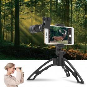 APEXEL Lensa Telephoto Lens Kit 20x + SwitchPod Mini Tripod - APL-T20XJJ04 - Black - 5