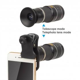 APEXEL Lensa Telephoto Lens Kit 20x + SwitchPod Mini Tripod - APL-T20XJJ04 - Black - 9