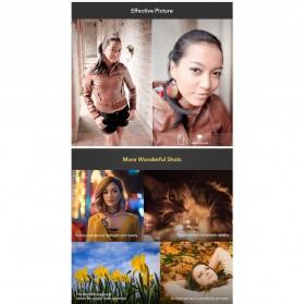 APEXEL Lensa Kamera Smartphone Universal Clip 2X Telephoto Lens - APL-HD5T - Black - 5