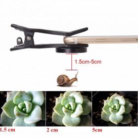 APEXEL 2 in 1 Lensa Wide Angle 0.6HD + 10x Macro Lens Kit - APL-0610WM - Black - 7