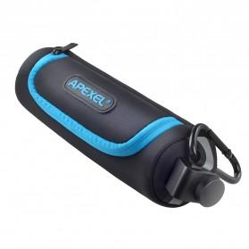APEXEL Lensa Kamera Smartphone Universal Clip 5 in 1 Lens Kit - APL-HD5-V2 - Black - 4