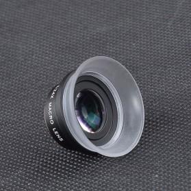 APEXEL Lensa Kamera Smartphone Super Macro Lens Kit 12x/24x - APL-24XMH - Black - 9