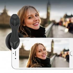 APEXEL Lensa Kamera Smartphone Telephoto HD Zoom Portrait Lens Kit 65mm - APL-65MM - Black - 2