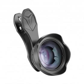 APEXEL Lensa Kamera Smartphone Telephoto HD Zoom Portrait Lens Kit 65mm - APL-65MM - Black - 8