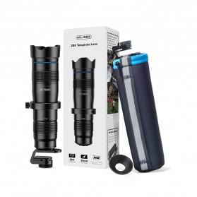 APEXEL Lensa Kamera Smartphone Telephoto HD Zoom Lens 28X - APL-JS28X - Black - 10