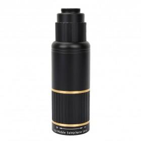 APEXEL 16X Universal Lensa Kamera Smartphone Long Focus Fisheye Wide Angle Micro Lens - APL-T16XBZJ5 - Black - 5