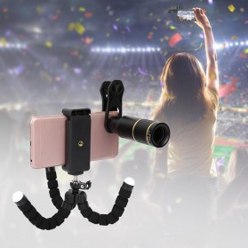 APEXEL 16X Universal Lensa Kamera Smartphone Long Focus Fisheye Wide Angle Micro Lens - APL-T16XBZJ5 - Black - 7