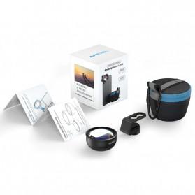 APEXEL Telephoto Lens Smartphone 3x Zoom 85mm - APL-PR85 - Black