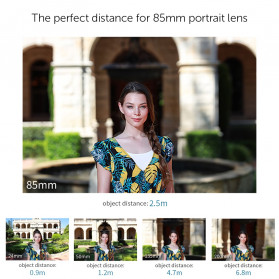 APEXEL Telephoto Lens Smartphone 3x Zoom 85mm - APL-PR85 - Black - 5