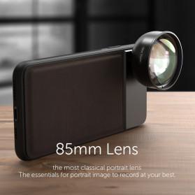 APEXEL Telephoto Lens Smartphone 3x Zoom 85mm - APL-PR85 - Black - 6